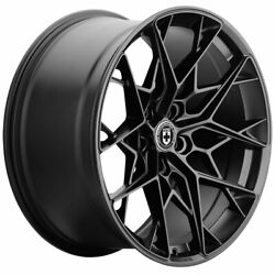 20 Hre Ff10 Black 20x9 Forged Concave Wheels Rims Fits Audi Allroad