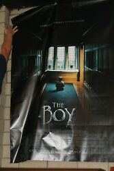 Huge Vinyl Movie Theatre Banner Poster Approx 48 X 70 The Boy Horror
