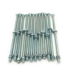 3/8 X 10 Zinc-plated Steel Carriage Bolts With Nuts And Washers 12 Per Pack