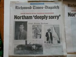 Richmond VA Newspapers Feb 2-9 2019 Ralph NorthamJustin Fairfax Scandal Impeach