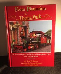 The Store Of DisneyLand Railroad Locomotive No.5 First Signed