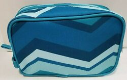 Allegro Modella Blue Teal Cosmetic Toiletry Bag $12.95
