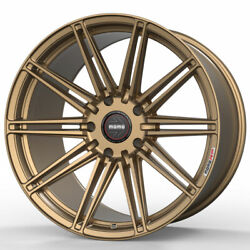 19 Momo Rf-10s Gold 19x9.5 19x11 Forged Concave Wheels Rims Fits Nissan 370z