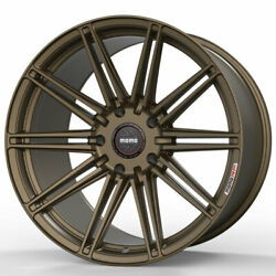 19 Momo Rf-10s Bronze 19x9 19x11 Forged Concave Wheels Rims Fits Nissan 370z
