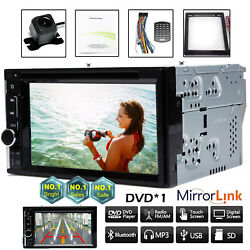 For 2005-2015 Ford F150/250/350/450/550 2din Car Dvd Player Radio Stereo+camera