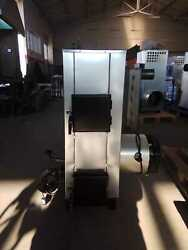 Used Oil And Wood Burner Heater For Your Garages Offices Up To 30kw New 2 In 1