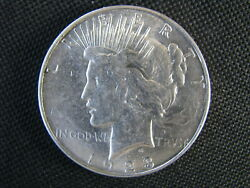 1923-d Peace Silver Dollar Uncirculated Select Mint State Ms