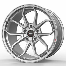 19 Momo Rf-5c Silver 19x8.5 Forged Concave Wheels Rims Fits Acura Tl