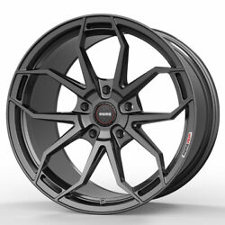20 Momo Rf-5c Grey 20x9 20x10.5 Forged Concave Wheels Rims Fits Ford Mustang