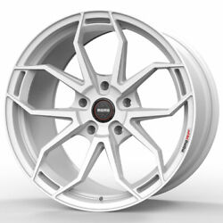 19 Momo Rf-5c White 19x8.5 19x10 Concave Wheels Rims Fits Ford Mustang Gt