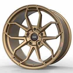 20 Momo Rf-5c Gold 20x9 20x10.5 Forged Concave Wheels Rims Fits Dodge Charger