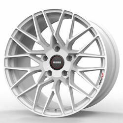 18 Momo Rf-20 White 18x8.5 Concave Forged Wheels Rims Fits Audi A3 S3