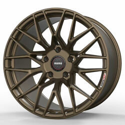 19 Momo Rf-20 Bronze 19x9 19x11 Concave Forged Wheels Rims Fits Nissan 350z