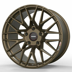 19 Momo Rf-20 Bronze 19x9 19x11 Concave Forged Wheels Rims Fits Nissan 370z