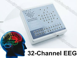 Contec Kt88-3200 Digital 32 Channel Eeg Machine And Mapping System2 Tripodsusb