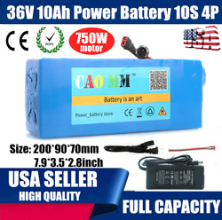36v 10ah Lithium Li-ion Battery Pack Andle750w Ebike Bicycle E Bike Electric Scooter