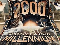 Good Housekeeping Vintage Dawn Of A New Millennium 2000 Pillow And Throw Blanket