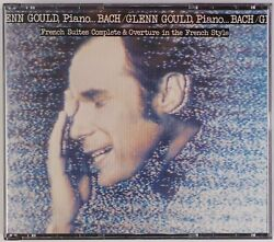 Glenn Gould French Suites Complete, Piano Sony Japan 56dc 153-4 2x Cd Nm