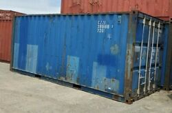 Used 20' Dry Van Steel Storage Container Shipping Cargo Conex Seabox Baltimore