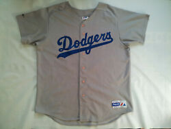 Vintage Madede In Usa Majestic Los Angeles Dodgers 31 Piazza Jersey In Size Xxl