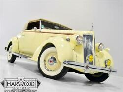 1936 Packard 120-B Convertible Coupe -- 1936 Packard 120-B Convertible Coupe  10236 Miles Packard Cream  282 cubic inch