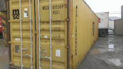 Used 40and039 High Cube Steel Storage Container Shipping Cargo Conex Seabox Cincinnat