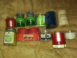 11 Scented Candles-aspen Bay-bahoma-home Interior And More 4-6 Oz-unused