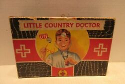 Little Country Doctor By Transogram Toys And Games Empty Box 1361 Doctor Kit