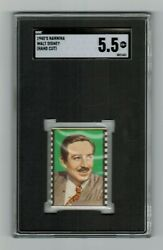Sgc 5.5 Walt Disney 1948 Cookie Card The Highest Ever Graded By Sgc Or Psa
