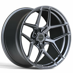 20 Brixton Forged Rf7 Gunmetal 20x9 Concave Wheels Rims Fits Toyota Camry