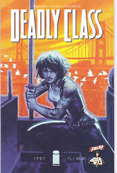 Deadly Class 1 - Variant Cover Modern Age 2014 - 9.0