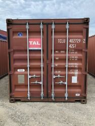 Used 40and039 Dry Van Steel Storage Container Shipping Cargo Conex Seabox Long Beach