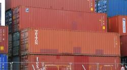 Used 40and039 High Cube Steel Storage Container Shipping Cargo Conex Seabox Portland