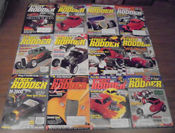 Street Rodder Magazine 2000 Complete Year Classic Muscle Cars Street Rods