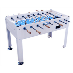 2-4 Player Blue Sky Indoor And Outdoor Game Room Soccer Table   Gt-bs-1100