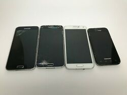 Samsung Galaxy S5 2-4g Lte 5 Smashed Phones For Parts Or Repair Verizon
