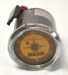 Aqua Meter Inst - Engine Hour Guage - Made In West Germany
