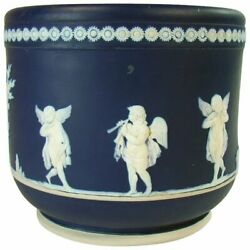 Wedgwood Jardiniere With Winged Figures