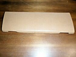 1984 84 Mercedes-benz 380sl R107 - Glove Box Cover Pad Only Palomino
