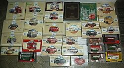 Lot Of Corgi Die Cast Double Decker Buses And Buses