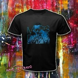 MILES DAVIS Classic American Jazz trumpeter Kind of Blue logo Mens S to 3XL