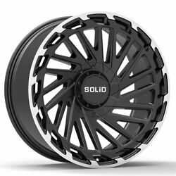 20 Solid Blaze Machined 20x12 Forged Wheels Rims Fits Chevrolet Tahoe 07-15