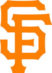 San Francisco Giants Mlb Decal Sticker For Car Or Truck Or Laptop