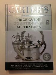 Carter's Silver Edition 2009 Huge Antiques And Collectables Book