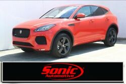 2020 Jaguar E-PACE Checkered Flag Edition 2020 Jaguar E-PACE Checkered Flag Edition 8 Miles Photon Red Sport Utility Inter