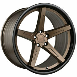 20 Vertini Rfs1.7 20x10.5 Concave Forged Wheels Rims Fits Audi A7 S7