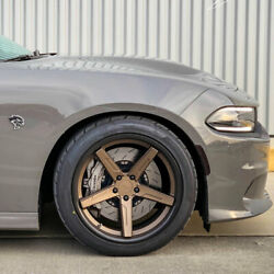 20 Vertini Rfs1.7 20x10 20x11 Concave Forged Wheels Rims Fits Dodge Challenger