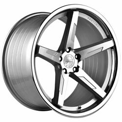 20 Vertini Rfs1.7 Silver 20x10.5 Concave Forged Wheels Rims Fits Audi Allroad