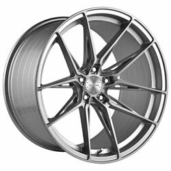 20 Vertini Rfs1.8 Silver 20x10.5 Forged Concave Wheels Rims Fits Audi A7 S7
