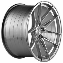 20 Vertini Rfs1.8 Silver 20x10.5 Forged Concave Wheels Rims Fits Audi Allroad